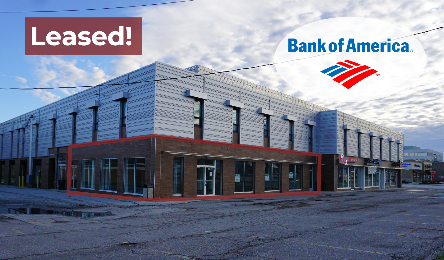 Crescendo Aids Bank Of America's Cleveland, Ohio Expansion With Lease Of Modern Woodmere Property