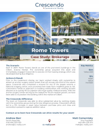 Crescendo - Rome Towers Case Study