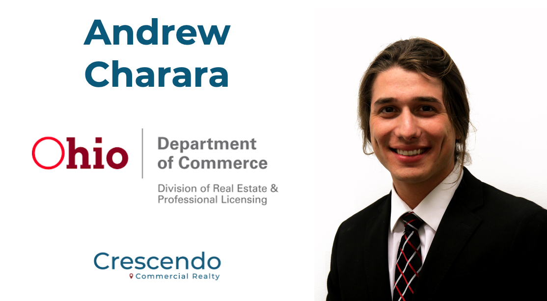 Andrew Charara Becomes Ohio Licensed Agent, Aiding Crescendo Growth